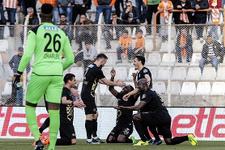 Osmanlıspor'un galibiyet hasreti son buldu