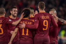 Roma sahasında gol yağdırdı