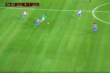Luis Suarez attığı golle geceye damga vurdu