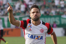 Diego Ribas Brezilya'da şov yapıyor