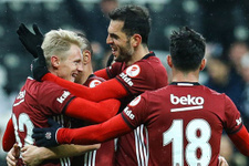 Beşiktaş'ın kadrosunda 5 değişiklik