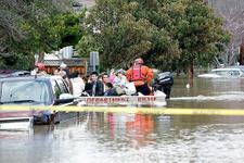 California'da sel felaketi 200 kişi kurtarıldı
