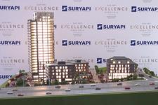 Sur Yapı dev konut projesi Excellence'yi tanıttı