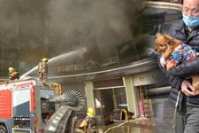 Çin'de otel yangını 10 kişi hayatını kaybetti