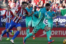 Barcelona Madrid'den Messi ile çıktı