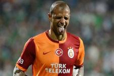 Felipe Melo'dan Beşiktaş'a derbi göndermesi