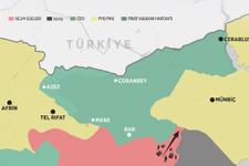El Bab haritası son durum Esad resmen kalkan oldu!