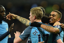 Manchester City zirve yarışına devam ediyor