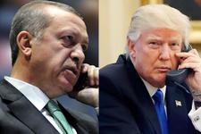 Erdoğan ve Turmp telefonla görüştü
