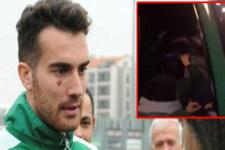 Bursasporlu futbolculara yapılan saldırının görüntüleri ortaya çıktı