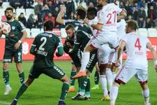 Sivasspor Atiker Konyaspor maçında gol sesi çıkmadı