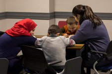 Suriyeli çocuklar Türkçe öğreniyor