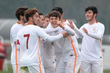 Galatasaray U21 takımı farklı kazandı