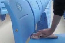 Trabzonspor'dan taraftara koltuk silme cezası