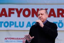 Afyon'da Erdoğan'ın simit keyfi!