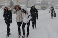 Ankara hava durumu şok etti önce kar sonra buz...