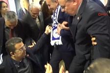 Bakan Mehmet Müezzinoğlu selfie çekerken platform çöktü