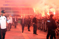 Beşiktaş Antalya'ya geldi