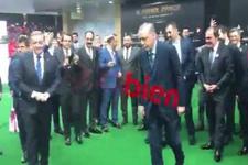 Erdoğan Futbol Zirvesi'nde Desailly'ye penaltı attı