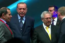 Cumhurbaşkanı Erdoğan ile Aziz Yıldırım yan yana geldi