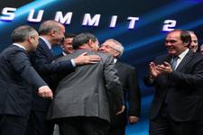 Erdoğan Aziz Yıldırım ile Dursun Özbek'i barıştırdı