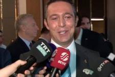 Yıldırım Demirören Ali Koç'a canlı yayında engel oldu
