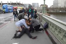Londra saldırısı son dakika haberleri çok sayıda yaralı var