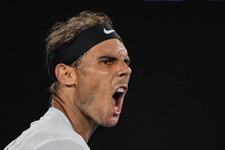 Nadal İsrailli tenisçiye set vermedi