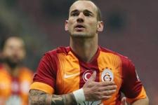 Sneijder'in menajeri İstanbul'da!