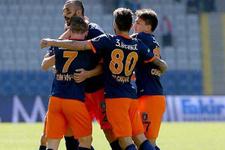 Başakşehir Alanyaspor'u yendi zirve takibini sürdürdü