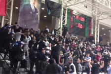 Beşiktaş SJ-Pınar Karşıyaka maçında olay çıktı!