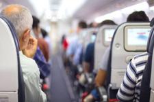 Ünlü sunucu uçakta panik atak geçirdi korku dolu anlar!