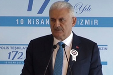 Binali Yıldırım'dan İzmir'de polislere uyarı vatandaşı...