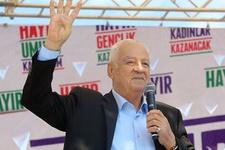 HDP'li Fırat sahnede Rabia yaptı! Bundan sonra bu bizim