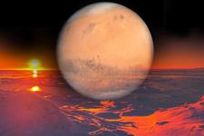 Çılgın Mars iddiası! Yaşam nükleer savaş yüzünden bitti