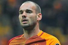 Sneijder'den ayrılık açıklaması!