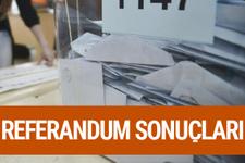 Çankırı referandum sonuçları 2017 seçimi evet hayır oyları
