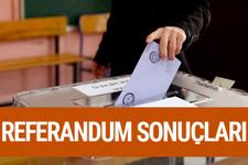 Niğde referandum sonuçları 2017 seçimi evet hayır oyları