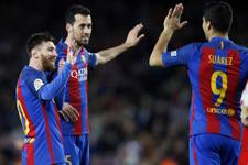 Barcelona La Liga'da zirve takibini sürdürdü