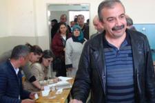 HDP'li vekiller oylarını Ankara'da kullandı