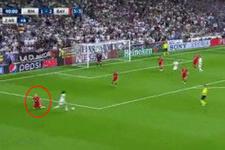 Marcelo Robben'e attığı çalımla resmen diz çöktürdü