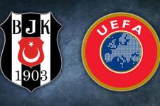 UEFA kararını verdi Beşiktaş'a men cezası geldi