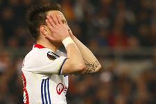 Lyon ligde puan kaybetti
