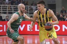 Panathinaikos - Fenerbahçe maçının sonucu