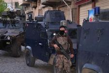 Sur'da 500 polisle son dakika operasyon