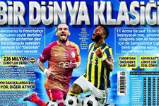 Günün spor gazete manşetleri! 23 nizan 2017