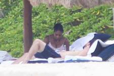 Hamile Serena Williams sevgilisiyle tatilde