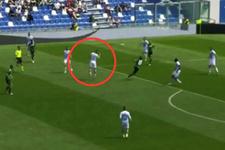 Hatalı pas verdi takımına golü yedirdi