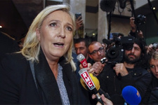 Irkçı lidere seçim öncesi şok! Fransız yargısı peşinde!