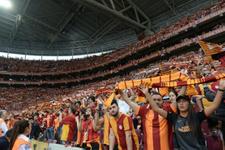 Galatasaray taraftarı bu sezonun rekorunu kırdı